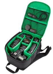 Wholesale Dslr Camera Bag Backpack - Waterproof Waterproof DSLR Camera Lens Backpack Case Bag photography digital camera video backpack For Nikon Canon Sony 3 colors to choose