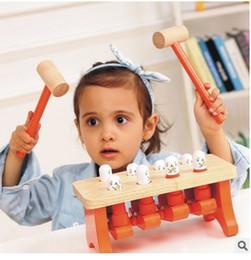 Argentina Envío libre bloques de construcción de juguetes educativos de madera de los niños que juegan los juguetes de hamster bebés y bloques de construcción de la primera infancia Suministro