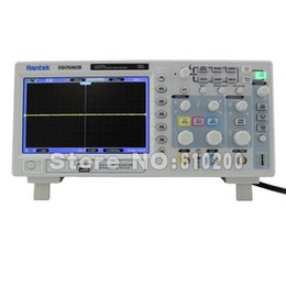 Wholesale Bench Oscilloscope - Wholesale-Free shipping hantek DSO5202B Digital 200MHz 2Channels Bench Oscilloscope Scopemeter 1GS s USB 7'' Color