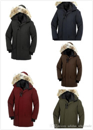 Wholesale Synthetic Flowers L - free shiping)wholesale ca-006 Goose Men LANGFORD PARKA Down Jacket Buffer Khaki Size XS-XXL FOR WINTER OUTWEAR PARKA