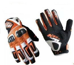 Wholesale Original Gloves - original KTM racetech 12 motorcycle gloves motorbike motorcross ATV Offrod gloves Free shipping worldwide wholesale and drop shipping