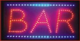 lampade a casa di senso Sconti 2016 Vendita diretta grafica personalizzata coperta lampeggiante 10x19 pollici negozio della barra della birra luce al neon LED segno Whiteboard all'ingrosso