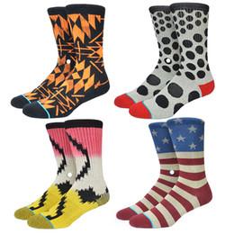 Wholesale Mens Towels - Wholesale-American Brand Basketball Socks Skateboard 3D Printed Towel Terry Compression Skate Sock Odd Futre Mens Socks Colorful ST