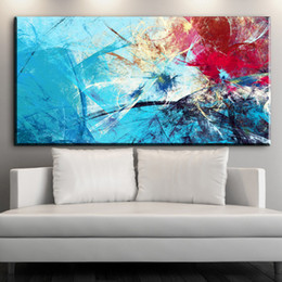 Wholesale Quality Poster Printing - ZZ1907 modern Color Dream Abstract Art High Quality Canvas Print Painting Poster, Wall Pictures For Home Decoration Wall Decor