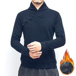 Wholesale Coats Chinese Collars - Wholesale- Traditional Quality chinese style male clothing for men chinese pullover jackets men clothes oriental mens homme coat tang suit