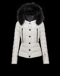 Wholesale Women Hooded Fur Coat Xxl - High Quality Luxury Brand M Women Down Jacket Thickening coat 85% Real Raccoon Fur Hooded Women's Down & Parkas Size:XS-XXL