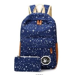 Wholesale Cross Body Backpacks For Women - Luggage & Bags Fashion Star Women Men Canvas Backpack Schoolbags School Bag For girl Boy Teenagers Casual Travel bags Rucksack