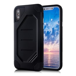 Wholesale Anniversary Camera - For iPhone x Case 10 Anniversary 5.8'' Rugged ARMOR Cover Shock Proof Defender Dual Protect Camera Strong Protective Hot Sale Carbon Fibre