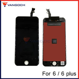 Wholesale Iphone Touch Screen Repair - Grade A+++ LCD Display Touch Screen Digitizer Assembly With Frame Repair Replacement For iPhone 6 iPhone 6 plus