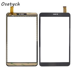 2019 планшетные панели с сенсорным экраном Wholesale- Tablet Touch for Tesla Neon 8.0 Touch Screen Digitizer Touchscreen Glass Replacement Repair Panel дешево планшетные панели с сенсорным экраном