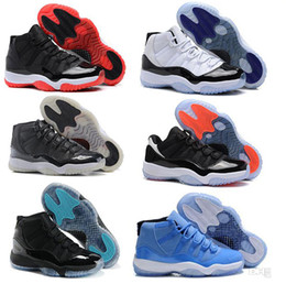Wholesale New Packing - New Shoes 11 men basketball shoes 72-10 space countdown pack infrared 23 concord legend blue gamma black sport boot sneaker