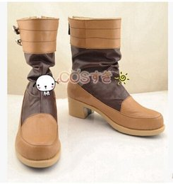 Wholesale Dramatical Murder Cosplay Costume - Wholesale-Free Shipping! DRAMAtical Murder Nine Cosplay Boots Cosplay Shoes