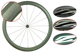 Wholesale Wheels Carbon Clincher - 2 year warranty 303 Full carbon T700 wheelset 700C Clincher Tubular road bicycle 45mm carbon dimple wheels