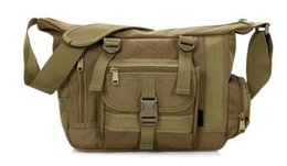 Wholesale Army Acu Bags - Outdoors Casual Military Tactical Bag Acu CP Camouflage Army Green Mens Bag Hiking Travelling Sport Army Duffel Messenger Bag