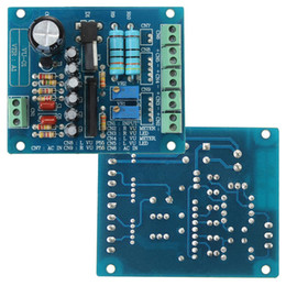 Wholesale Board Meter - Freeshipping AC 12V Stereo VU Meter Driver Board Amplifier DB Audio Level Input Backlit
