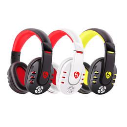 Argentina 2016 la marca más reciente V8 Wireless Bluetooth Game Headset Auricular Música Auricular para teléfono PC Tableta portátil cheap headset music brand Suministro