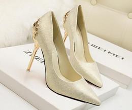 Wholesale Glitter Platform Wedding Shoes - 9Color 10cm Botttom High quality Glittering Size 34-39 Sexy High Heels Platform Shoes Pumps Women's Dress Fashion Wedding shoes lady Pumps