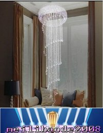 Wholesale Office Direct - Diameter 30CM height 70CM modern K9 crystal chandeliers lustre ceiling chandelier lamp Factory direct sale free shipping MYY