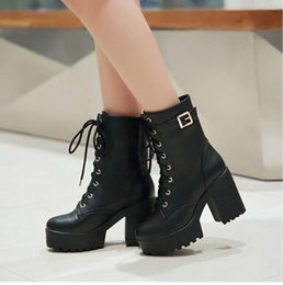 Wholesale Taiwan Winter Fashion - The new 2016 with senior fashion with pu waterproof Taiwan side antiskid short boots, free shipping