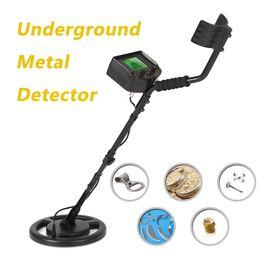 Wholesale Gold Detector Scanner - 100-240V High Sensitivity Underground Metal Detector Gold Digger Treasure Hunter tester Scanner Scanning Tool + Earphone Buzzer