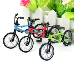 Wholesale Mountain Decoration - 20PCS Multicolor Mini Bicycle Bike Mountain Bike Model High Quality Decorations Toys Boy
