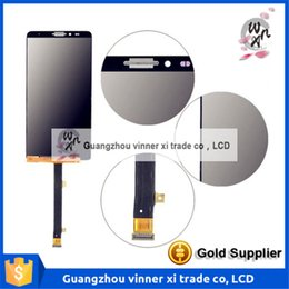 Wholesale Huawei Ascend Mate Smartphone - Black White Gold LCD+TP For Huawei Ascend Mate 7 Mate7 Mt7-TL09 Mt7-TL10 LCD Display with Touch Screen Digitizer Smartphone