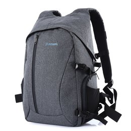 Wholesale Canvas Dslr Camera Shoulder Bag - PROWELL DC21439 DSLR Camera Flax Photography Bag Backpack Adopted with Flax Material Waterproof High Abrasion and Tear Resistance