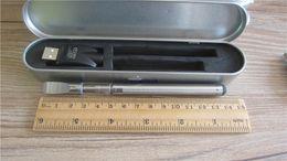 Wholesale E Cigarette Tin - hemp Oil glass Cartridge 510 touch pen kit E Cigarette solid oil tank with Tin Box Package vaporizer