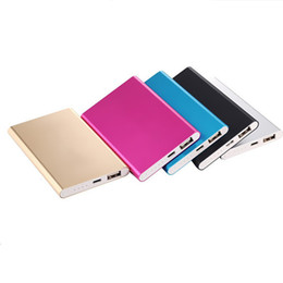 Wholesale F Tablet - Ultra thin slim powerbank 8800mAh Ultrathin power bank for mobile phone Tablet PC External battery F-YD