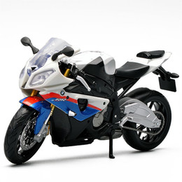 Wholesale Maisto 12 - Maisto S1000RR Diecast & ABS Scale 1:12 Model Motorcycle Toys, Miniature Alloy Racing Motor Bicycle, Car Toy For Boys, Juguetes