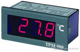 Led régulateur de température en Ligne-220V Digital Contrôleur de température Panneau LED MeteLED Aquarium numérique mètre de température infrarouge TPM-900 + avec indication d'erreur de capteur