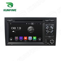 2019 tela de toque audi Quad Core 1024 * 600 Tela Android 5.1 Car DVD Navegação GPS Player para Audi A4 2002-2008 com controle de controle de Rádio Wifi 3G desconto tela de toque audi