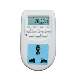 Wholesale Electronic Energy Saving - New 220V-240V Energy Saving Timer Programmable Electronic Timer Socket Digital Timer