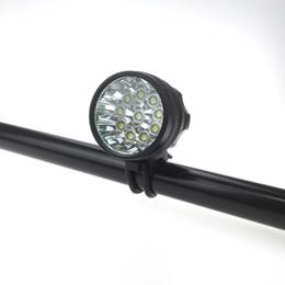 Wholesale Lumens Bike - 10T6 20000 Lumens 10xCREE XM-L T6 LED Front Bicycle Bike Light Lamp Headlamp Headlight + 6*18650 Battery Pack & Charger