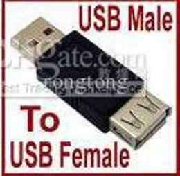 Wholesale F Plug Adapter - USB 2.0 A Male Plug To USB B Female Jack Adapter Connector Converter M F