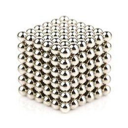 Wholesale Black Science - 5MM Silver Black Magnetic Buckyballs Sculpture Ball Toys for Intelligence Development and Stress Relief DIY Magnet Block Decoration Toys