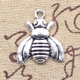Wholesale Tibetan Bee - 120pcs Charms bee 21*18mm Antique Making pendant fit,Vintage Tibetan Silver,DIY bracelet necklace