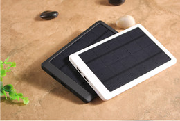 Wholesale Portable Backup Laptop Battery - 600000mAh Portable Solar Power Bank Dual USB Backup Charger Battery for Phone
