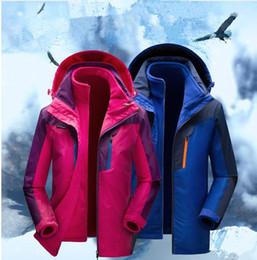 Wholesale Wholesale Outdoor Sportswear - windbreaker north jacket Mens and Women autumn Outdoor coats Waterproof Windproof Sports college sportswear hoody coats KKA2490