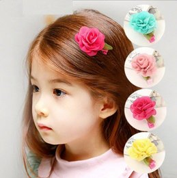 Wholesale Cheap Hair Bands Flowers - Explosion models ! New 2014 fashion cheap kids Baby accessories children girls hair ornaments hair bands hair clips flower
