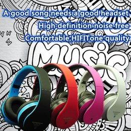 Wholesale Tf Card F - STN-12 High Quality Hot Wireless Bluetooth Headband Headset STN-12 Neck hand Headphone Headsets With Mic Support TF Card With Without LOGO F