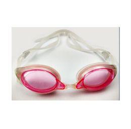 occhiali blu rossi adulti Sconti 2016 nuoto Swim Occhiali Occhiali Anti Fog UV impermeabile Silicone Sport Uomini adulti Donne gafas natacion