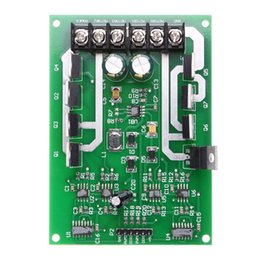 Wholesale Module Driver Motor - Freeshipping Dual Motor Driver Module Board H-bridge DC MOSFET IRF3205 3-36V 15A Peak30A motor power and battery life