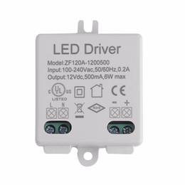 Wholesale Adapter Regulator - LED Driver Voltage Regulator AC DC Adapter LED Driver 100-240V AC 50 60HZ To 12V DC 6W 10W 12W 15W 18W 24W 30W 36W 48W 50W 60W