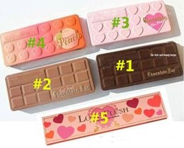 Wholesale Sizing Guide - 5 style Chocolate Eyeshadow BON BONS Chocolate Bar Eyeshadow Palette 16 Colors Eyeshadow Love Heart how to clamour guide 12 pcs free dhl