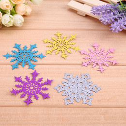 Wholesale Make Paper Christmas Decorations - New Christmas Snowflake Cutting Dies Scrapbooking Album Paper Xmas Cards Making Decoration Metal Die Cuts Embossing Template