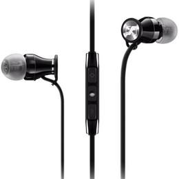 Écouteurs méga basse en Ligne-Momentum In-Ear M2 IEI Écouteurs HiFi Casque Antibruit Piston Écouteurs Mega Bass avec Télécommande pour Téléphone Mobile EAR243