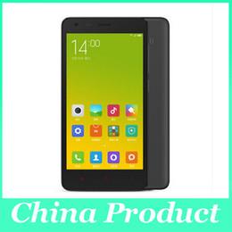 Wholesale Mtk Tv Phone - Original Xiaomi Redmi 2 Prime 4G LTE Quad Core Cell Phone MTK 1280*720 1GB RAM 8GB ROM