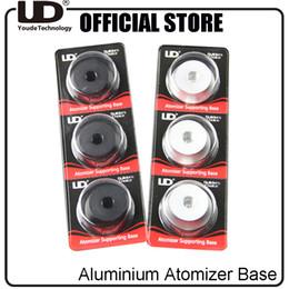 Canada Vente en gros- 3pcs / Pack Original UD Aluminium Atomiseur Support de Base Support pour 510 Fil Clearomizer Réservoir cheap wholesale pack clearomizer Offre