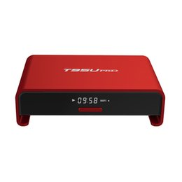 Wholesale Core Arms - T95U PRO Android 6.0 TV Box Amlogic S912 Android TV Box Octa core ARM Cortex-A53 2GB 16GB WiFi 2.4G 5.8G Fully Load H.265 4K Player